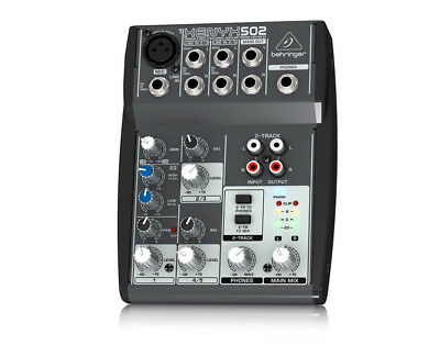 Behringer XENYX 502 5-Channel Compact Audio Mixer--