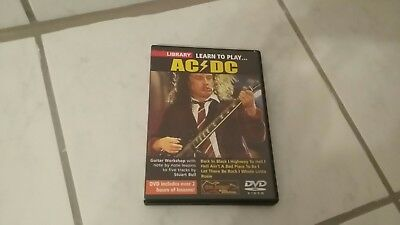 Lick Library learn to play AC/DC  DVD