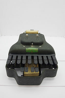 Vintage Stenotype Court Stenograph Machine Master Model Four with case ca 1933