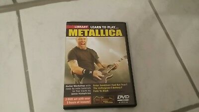 Lick Library learn to Play Metallica DVD