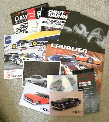 Lot Of 11 Different Misc. Chevrolet Promotional Items