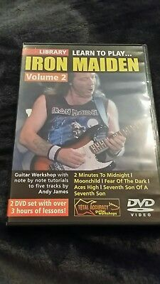 Lick Library Learn to play Iron Maiden DVD