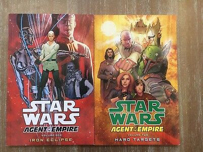 Lot of 2 Star Wars Agent of the Empire Vol 1 & 2 TP TPB NEW!