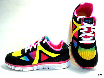 Girls Danskin Athletic Shoes/Sneakers Youth Sizes Vibrant Multicolor New