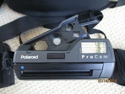 Polaroid Spectra System Pro Cam Camera, Carrying Case & Accessories - Not Tested