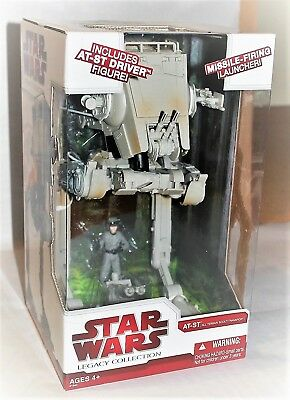 AT-ST + AT-ST Driver (Walmart Exclusive) – The Legacy Collection - NEU+OVP! RAR!