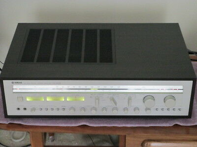 Vintage Yamaha CR-2040; 120 Watts Per Channel Receiver; Excellent Condition! NR
