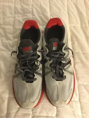 NEW NIKE AIR MAX LUNARMAX  + SILVER/BLACK/GREY/RED Size 15