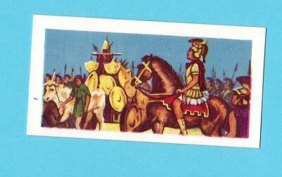 Alexander the Great Vintage 1957 Kane Collector Card
