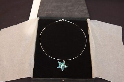 Lot of 2 Moet and Chandon Swarovski Crystal Star Necklace Bar Promo Advertising