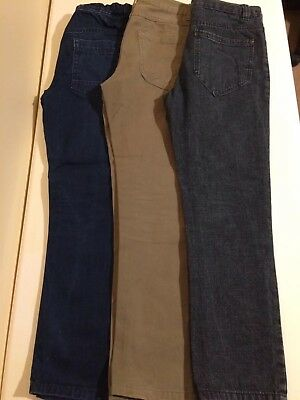 3 Pairs Of Boys' Jeans Bundle Age 9-10