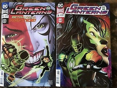 Green Lanterns #38 Covers A & B First appearance of Red Tide - DC