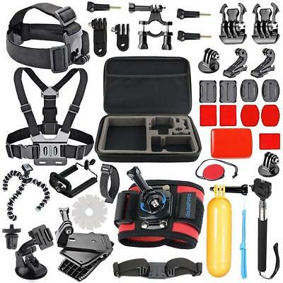 Sports Accessories Bundle Kit For GoPro 6 Go Pro 5Hero 4/3/21 Chest Strap Mounts