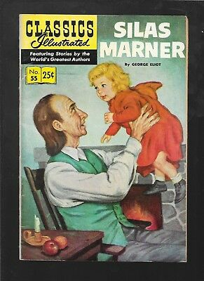 Classics Illustrated 55 Silas Marner HRN 166 12th print vg 4.0