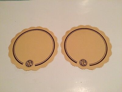 LOT 2 VINTAGE Norfolk and Western Railway PLACEMATS COASTERS