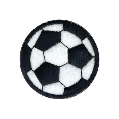 Soccer Ball Iron On Patch for Clothing Embroidered Applique Soccer Kid Patch