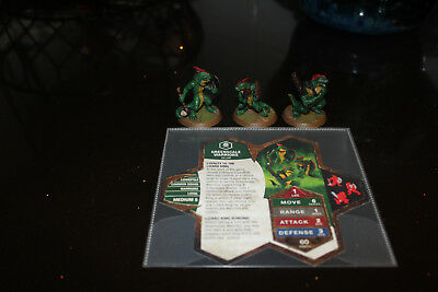 Heroscape Wave 11/D1-Champions of the Forgotten Realms: Greenscale Warriors