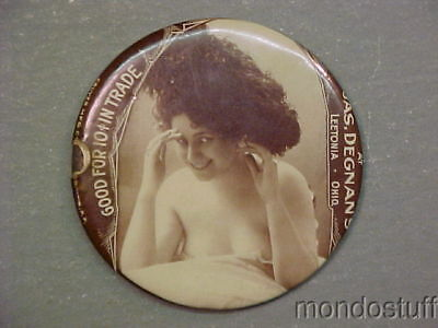 Rare Vintage Ohio OH Risqué Good For Advertising Mirror