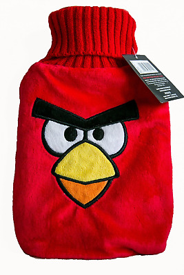 Angry Bird Red Hot Water Bottle and Cover (red)