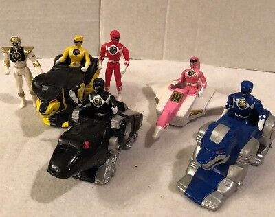 Lot of 6 Vintage 1995 McDonalds Happy Meal Toys Power Ranger the Movie