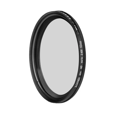 ZOMEI 72mm ND Filter ND2 to ND400 Fader Neutral Density Adjustable Variable Filt