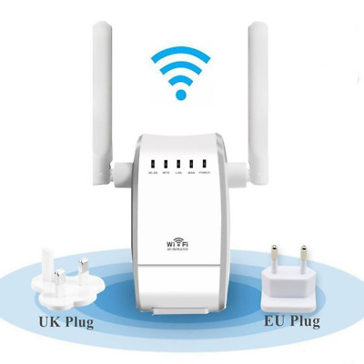 Seaidea 300Mbps WiFi Router Booster Long Range Extender 2.4GHz WiFi Repeater Sig