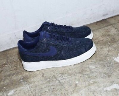 In Hand NEW Nike Navy Blue Air Force 1 Aizome Japan Size US 11.5