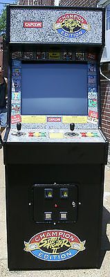 Capcom Street Fighter 2 Champion Edtion Arcade Video Game -Extra Sharp