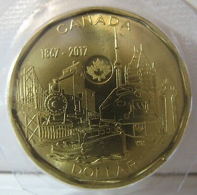 2017 - $1 - 150th Anniv. of Canada - Sealed in original plastic from Mint