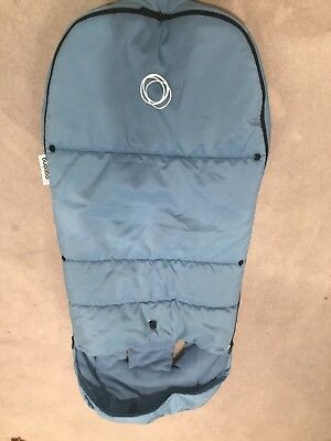 Ice Blue Bugaboo footmuff