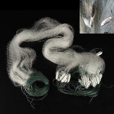 1 X Fishing Net with Float  Monofilament Gill Fishing Network Fish Trap GY
