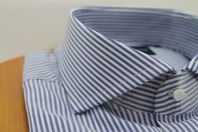 Dress Shirt Bagariny Napoli striped Riga 1 slim fit Made in Italy