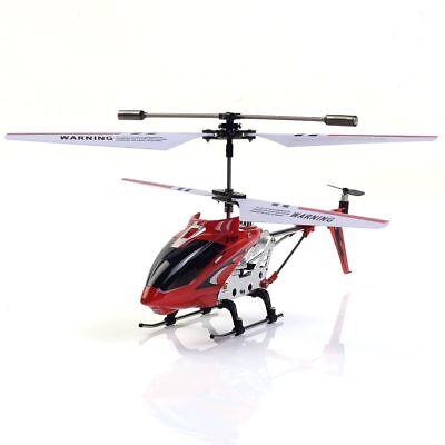 SYMA S107G Phantom 3.5CH Alloy Mini Remote Control RC Helicopter Gyro Red