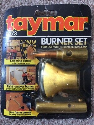 Taymar 3 Piece Burner Set, B873,