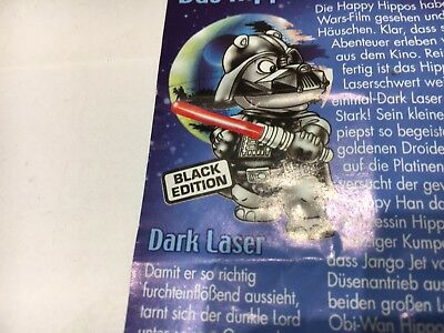 66) Ü-Ei Star Wars Hipperium 100% original BPZ von Dark Laser Black Edition