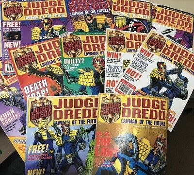 Judge Dredd Lawman Of The Future 1-11