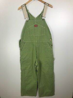 Dickies Green Overalls Size Large