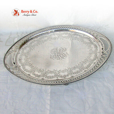 Tiffany and Company Serving Tray Sterling Silver 1891