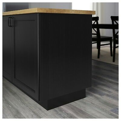 IKEA RAMSJO (LAXARBY) Cover Panel for Kitchen Cabinet, black ...
