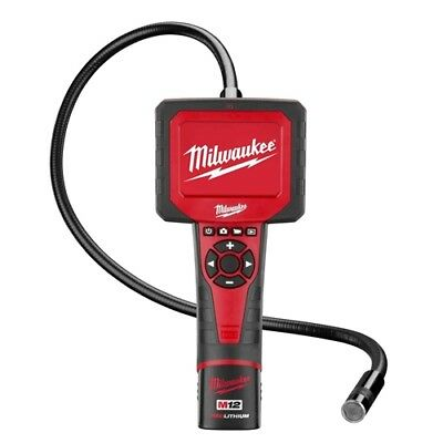 Milwaukee 2311-21 M12 M-Spector Inspection A/V Digital Camera with 17mm Cable