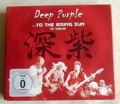 Deep Purple: To The Rising Sun In Tokyo - 2CD + DVD + 20-seitiges Booklet