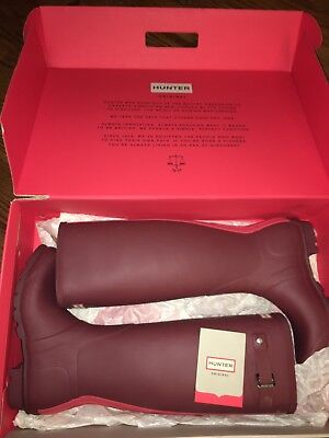 "HUNTER BOOTS - The ""Original Stripe"" Classic!  US 8 EUR 39 Rain Boot Wellies"