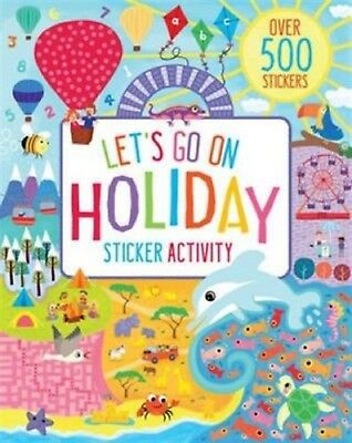 Holiday Sticker Activity Book - Over 500 Stickers