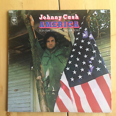 Johnny Cash - America: a 200 year salute in story and song, CBS, LP, Vinyl, TOP!