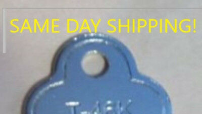 FREE SAME DAY SHIP Trunk Lock Key T46k T46 3815 trunk chest steamer vintage