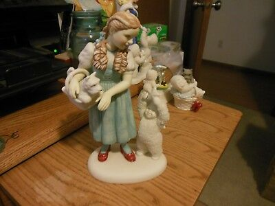 """Dept 56 Snowbabies Wizard of Oz """"I Have a Feeling We're Not in Kansas Anymore"""""""