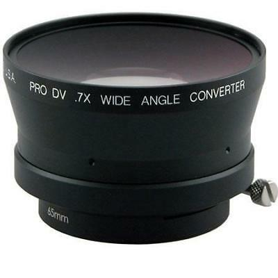 Century Precision Optics 0.7x Wide Angle Converter Lens with 65mm Clamp Mount