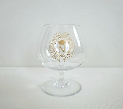 BACCARAT NAPOLEON With LEAVES Gold Gilded Crystal Brandy Snifter Cognac Glass