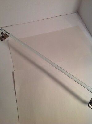 antique glass towel bar rod rack holder Vintage 24 Inches