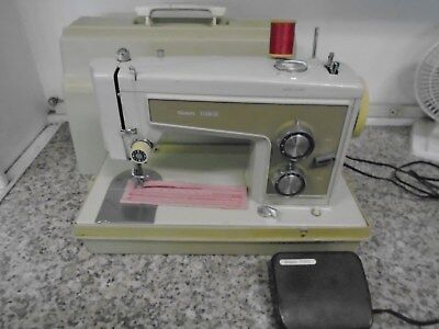 Vintage All Metal Heavy Duty KENMORE Portable Sewing Machine - Dependable L@@K!